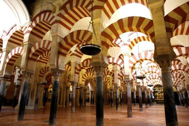 Arcos de la mezquita.