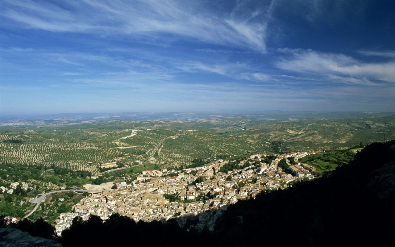 Vista de Jaén.