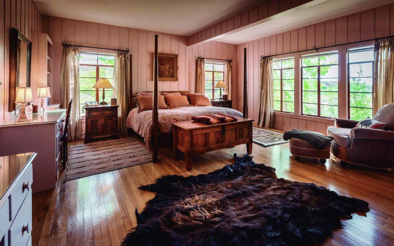 Ladder House Master Bedroom