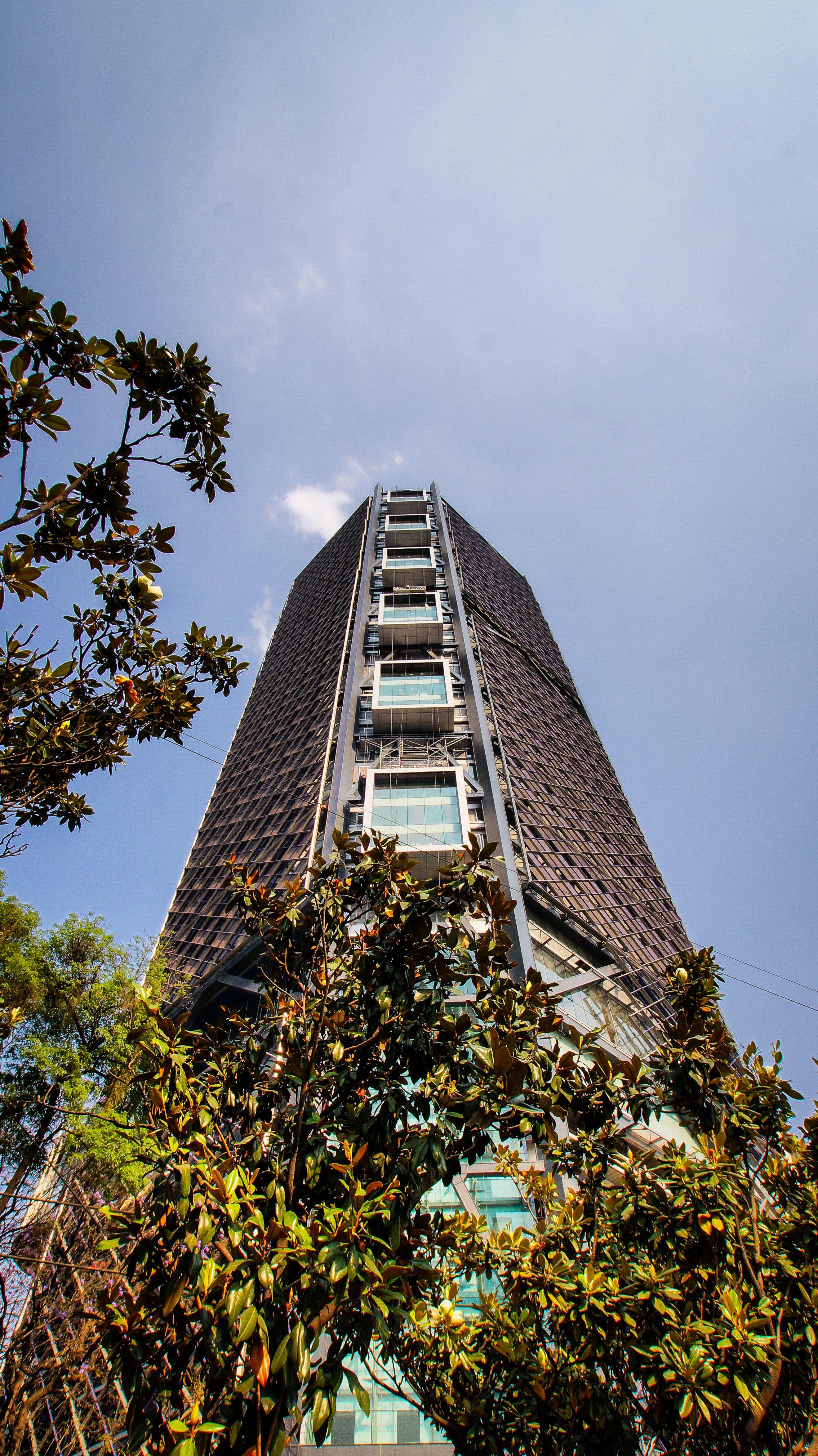 Torre BBVA Bancomer, una colaboración de Legorreta +Legorreta y con Rogers, Stirk, Harbour + Partners.