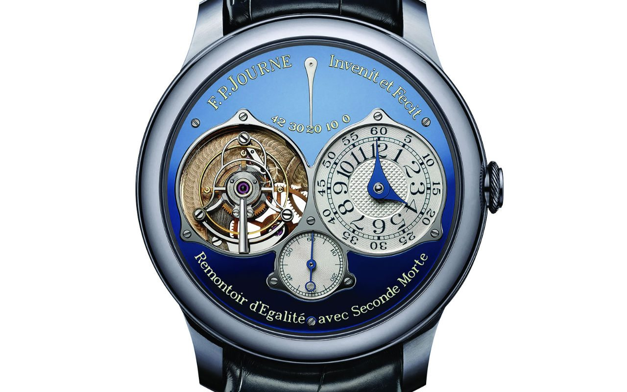 FP Journe Tourbillon Souverain Blue Only Watch 2015 2