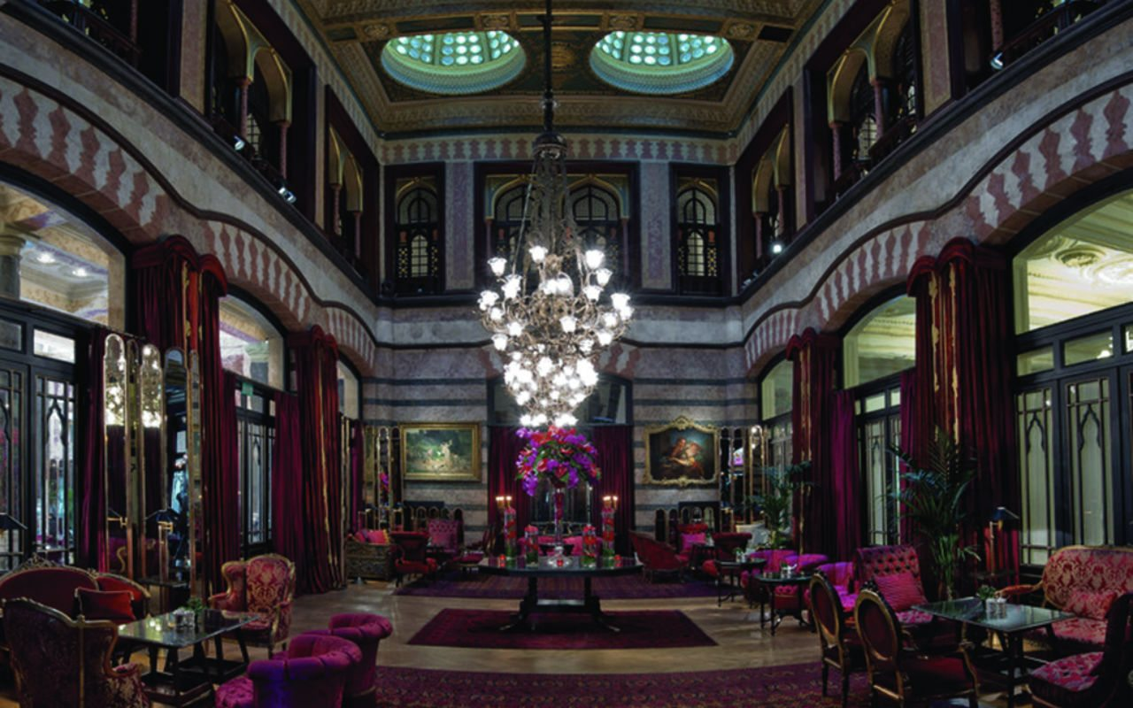 Pera Palace Hotel Jumeirah - Kubbeli Saloon