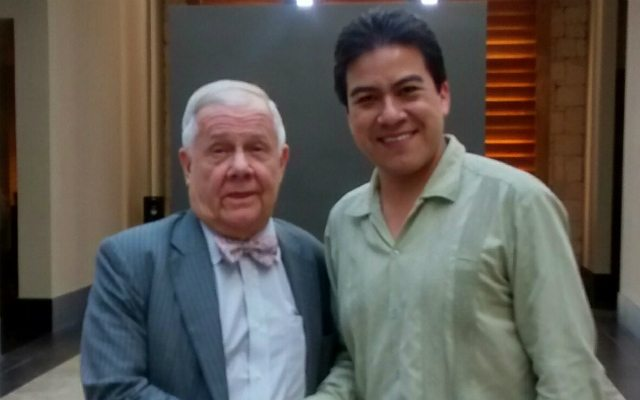 Jim Rogers y Guillermo Barba.