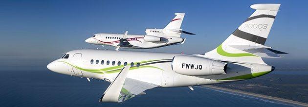 DassaultFalcon EBACE 2013