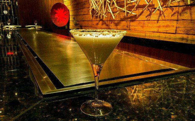 Foto: Martini de Mazapán de almendra en Teppan Grill-