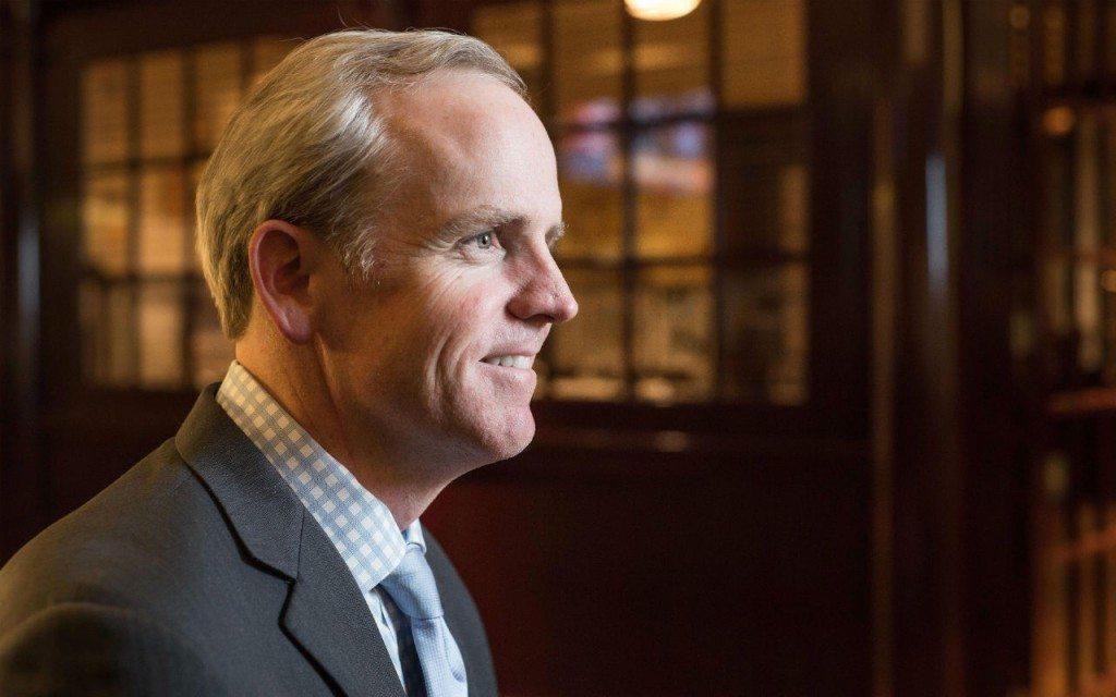 Dan Bartlett, vicepresidente de Asuntos Corportativos de Walmart y asesor del entonces presidente George W. Bush (Foto: Fernando Luna Arce).