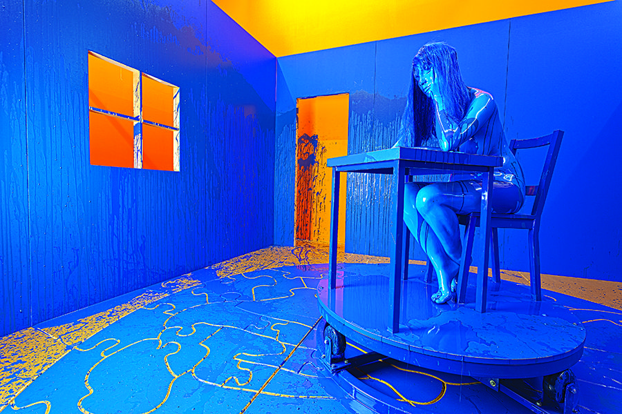 Farfetch Curates Art - Rubell Family Collection - Richard Jackson, The Blue Room, 2011