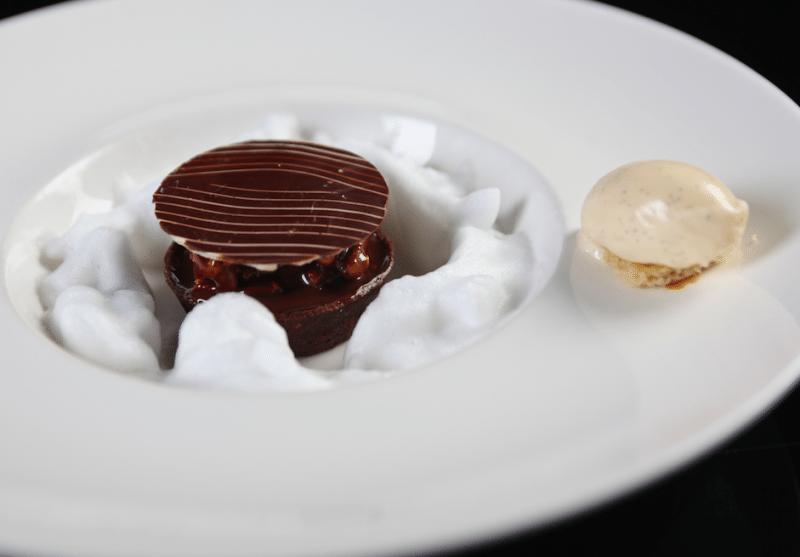 Tarta de Chocolate Colombiano con Nuez Pecana