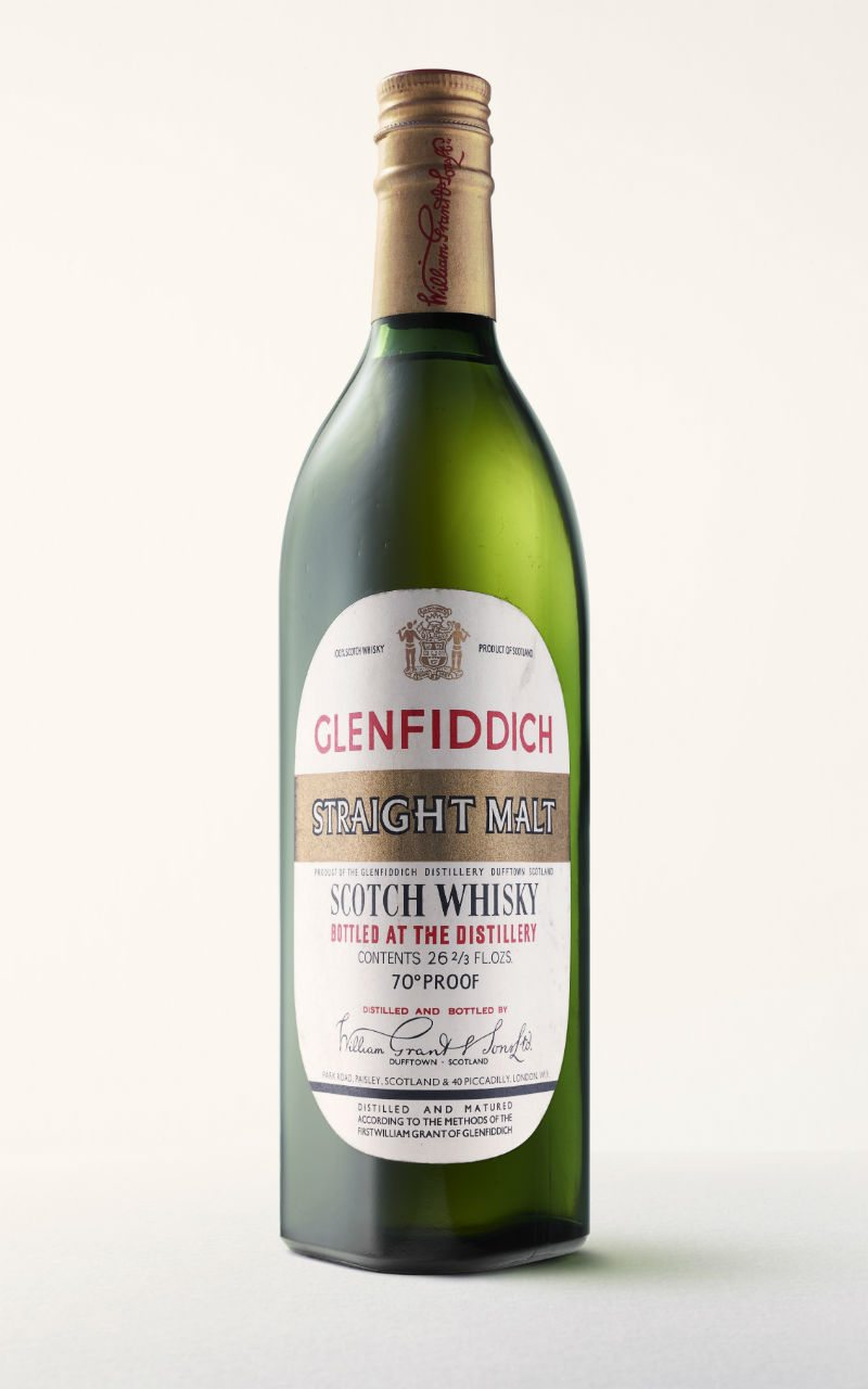 Glenfiddich, botella de 1963.
