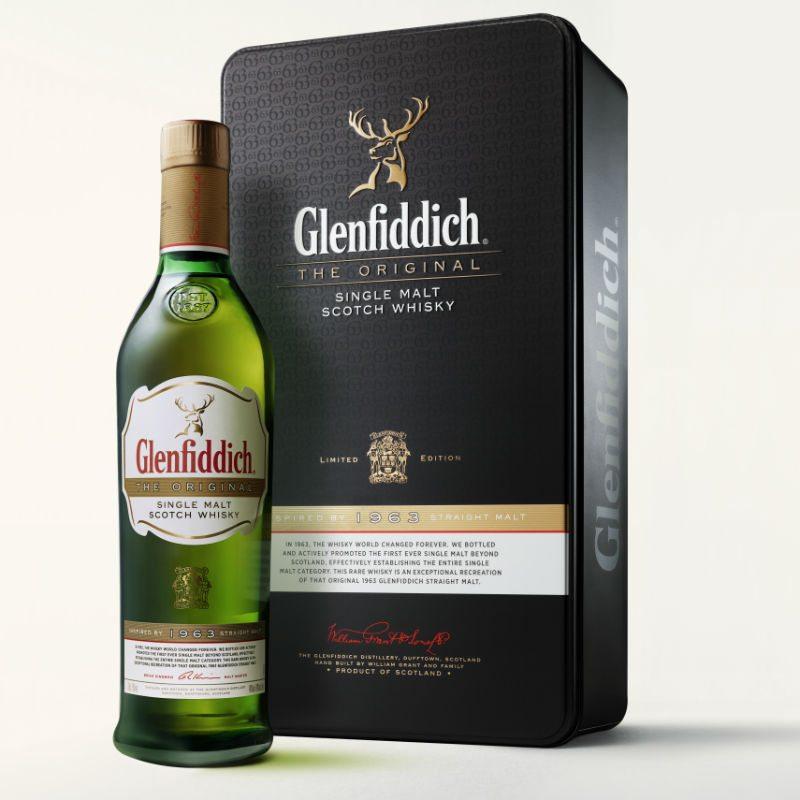 Glenfiddich The Original, presentación por edición limitada.