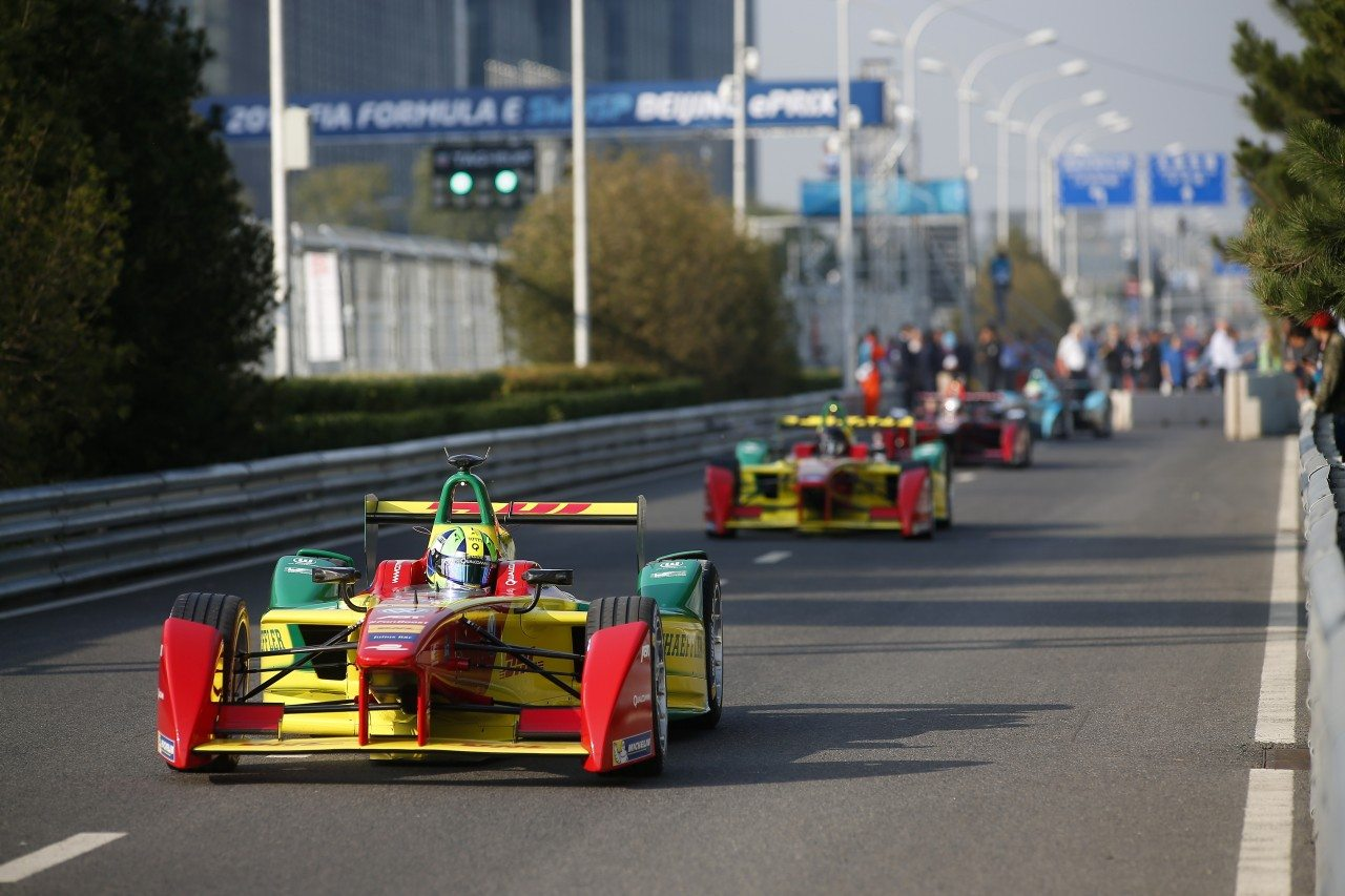 FIA Formula E , Beijing ePrix, Beijing, China.