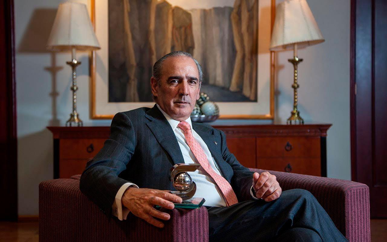 Enrique Zorrilla, CEO Scotiabank México (Foto: Julio Hernández)