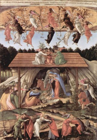 'Natividad mística', 1500, Sandro Botticelli, National Gallery, Londres. (Foto: The National Gallery, London)