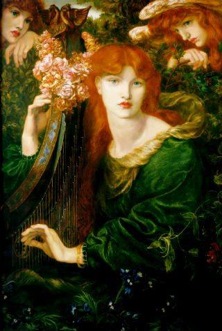 'La Ghirlandata', 1873, Dante Gabriel Rossetti, Guidhall Art Gallery, Londres. (Foto: Guidhall Art Gallery 2015)