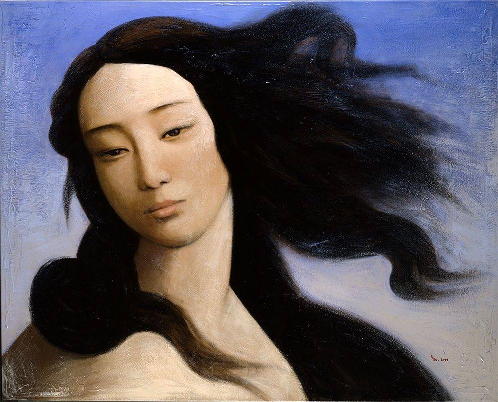 'Venus after Botticelli', 2008, Yin Xin. (Foto: Yin Xin)