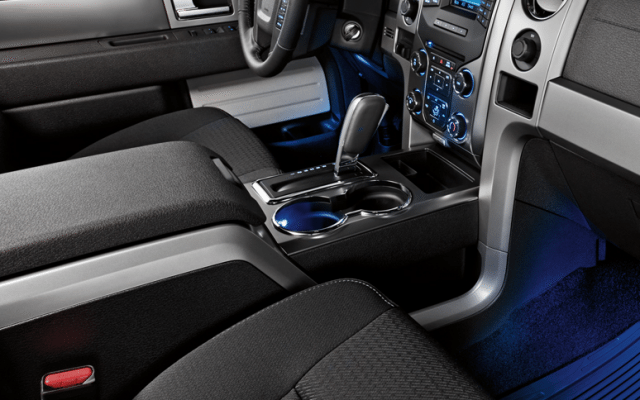 Interiores de tela de la SUV Expedition de Ford