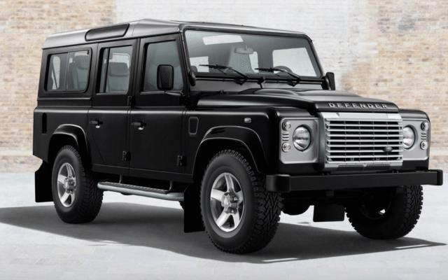Camioneta Defender de Land Rover