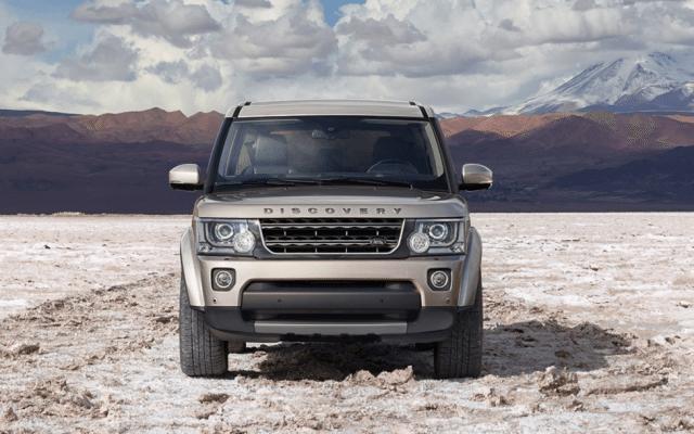 La camioneta Discover todo terreno de Land Rover