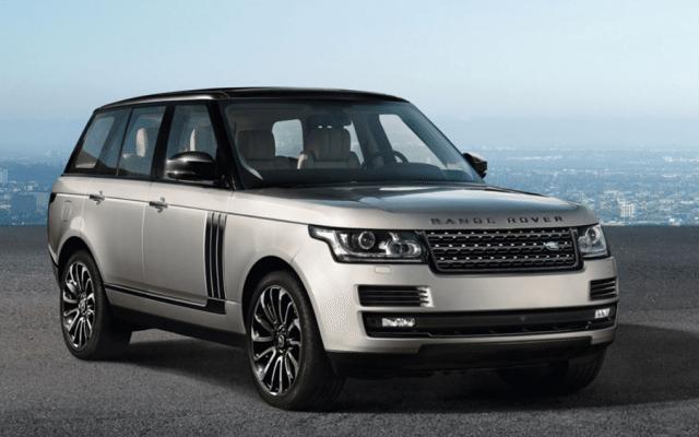 SUV Range Rover de Land Rover