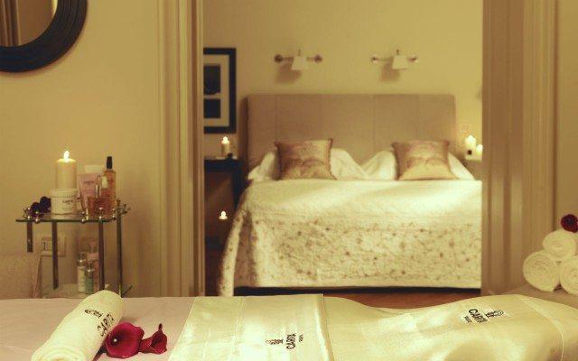 Hotel Savoy Florence- SUITE Carita Spa Suite bedroom