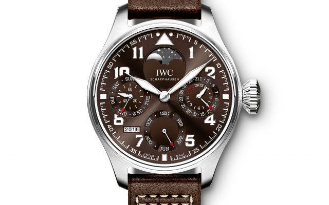 "Gran reloj de aviador calendario perpetuo edición ""Antoine de Saint-Exupéry"""