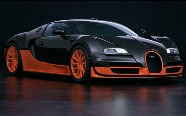 Bugatti Veyron Supersport.
