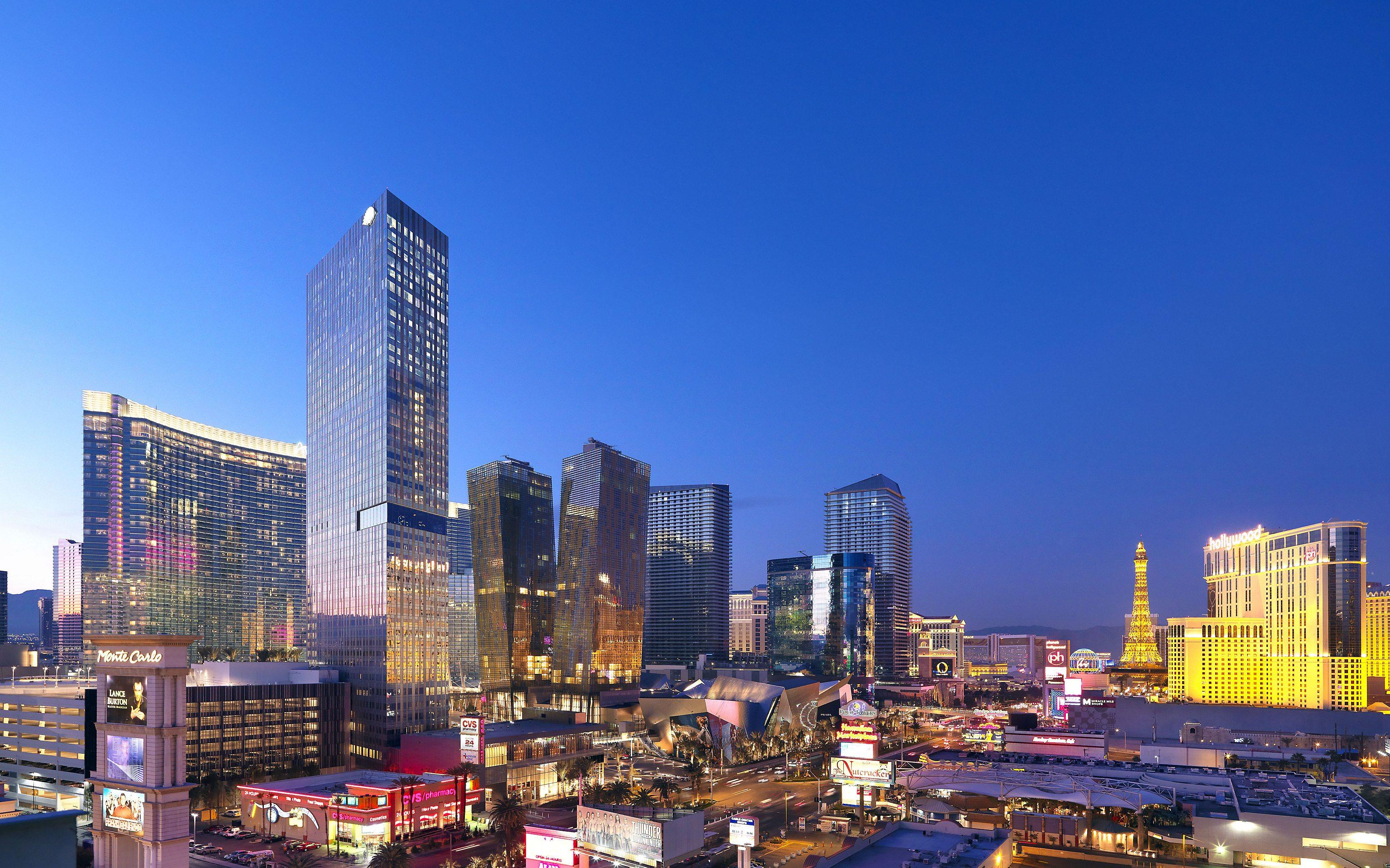 Mandarin Oriental sobre el Strip de Las Vegas