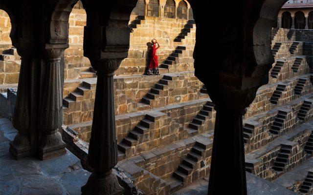 Pozo Chand Baori, India.