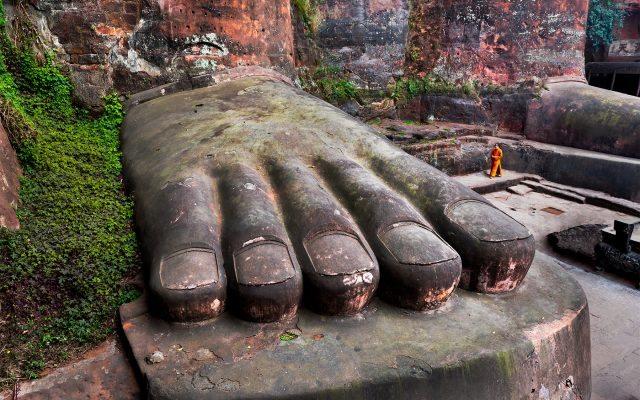 Gran Buda de Leshan, China.