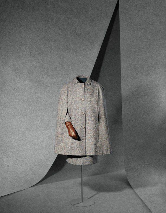 Traje y capa Balenciaga que pertenecieron a la Princesa de Mónaco Grace Kelly