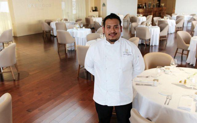 Alejandro Cuatepotzo, chef a cargo de Barroco.