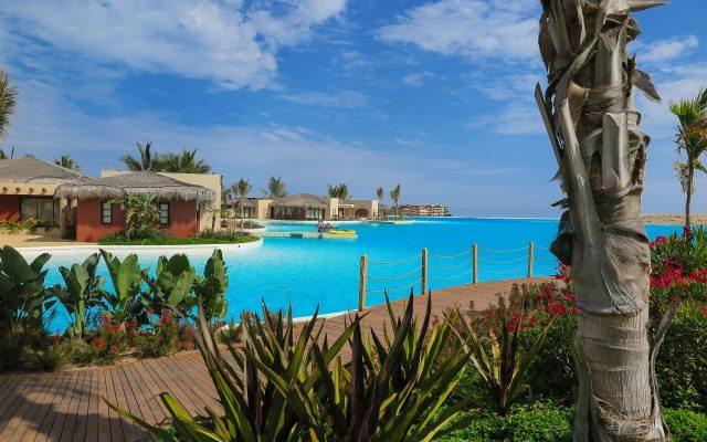 Laguna artificial por Crystal Lagoons en Diamante, Cabo San Lucas