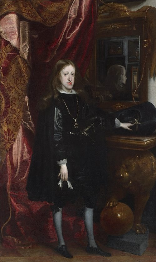 Juan Carreño de Miranda, Retrato de Carlos II