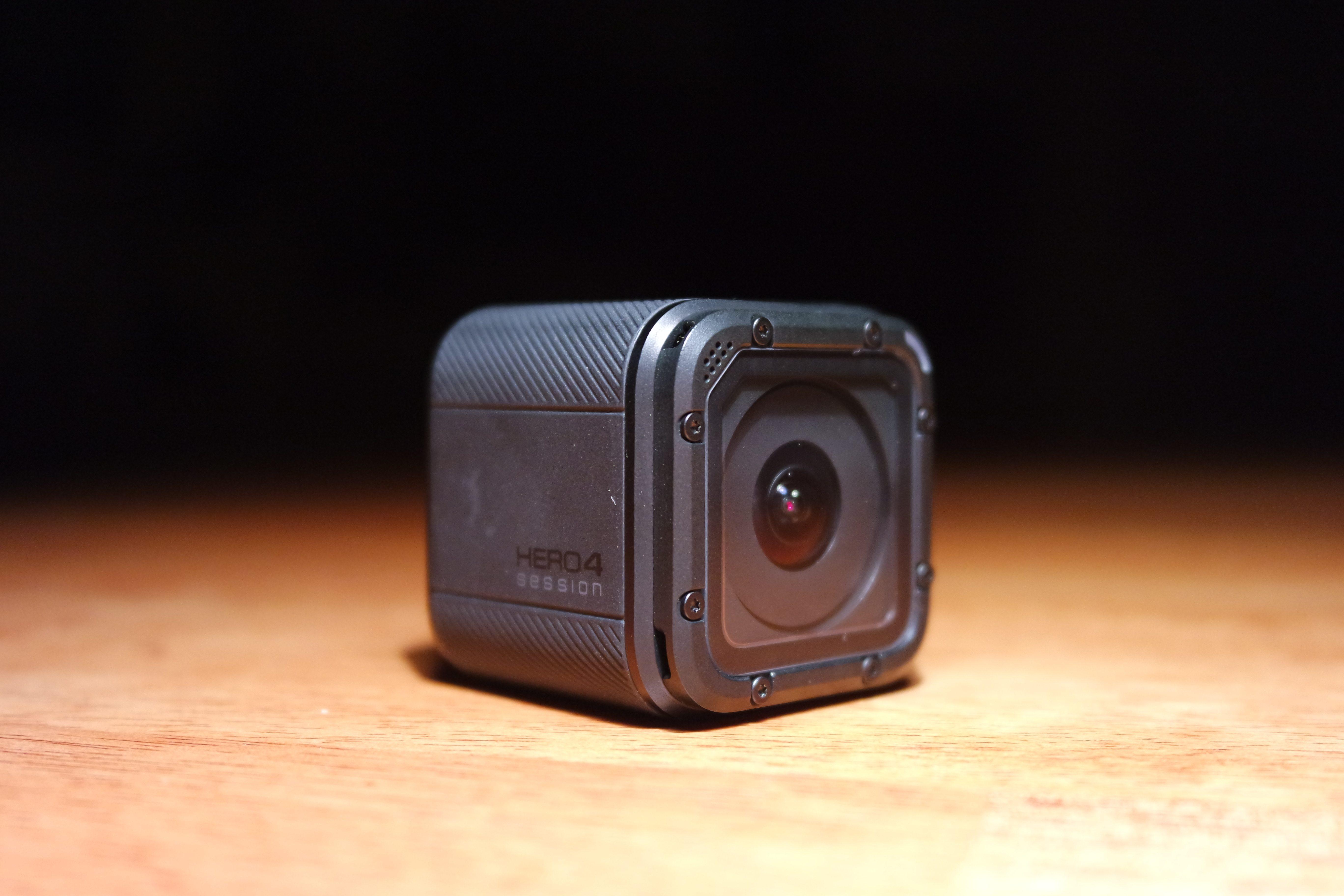La Hero 4 Session es la cámara más pequeña de la línea GoPro, y su precio ha sido rebajado en dos ocasiones.