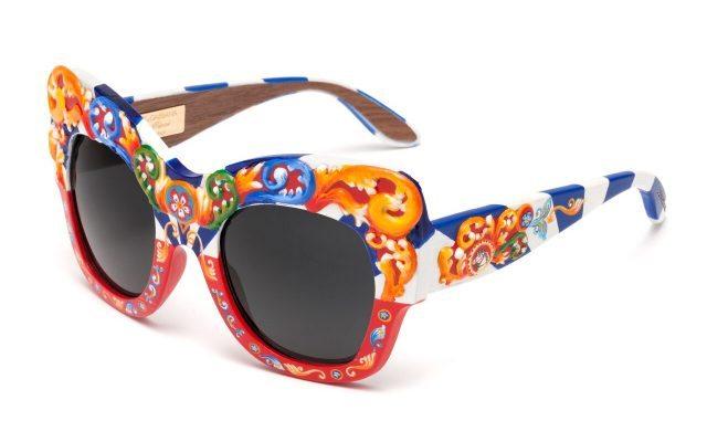 Lentes de madera edición limitada de Dolce & Gabbana