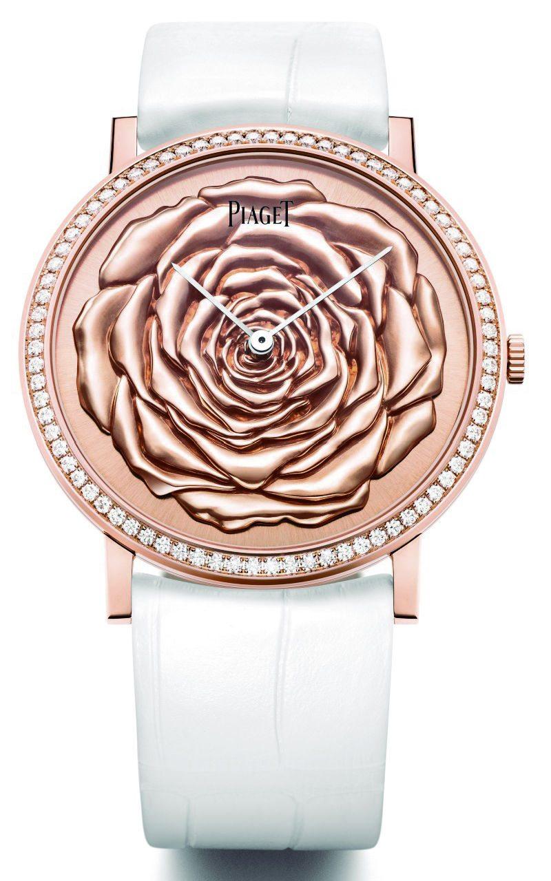 rosa Yves Piaget