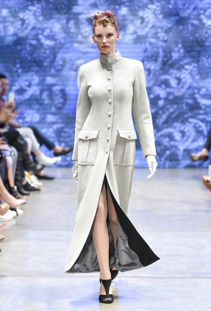 Look presentado por Benito Santos en el Mercedes Benz Fashion Week Otoño-Invierno 2016