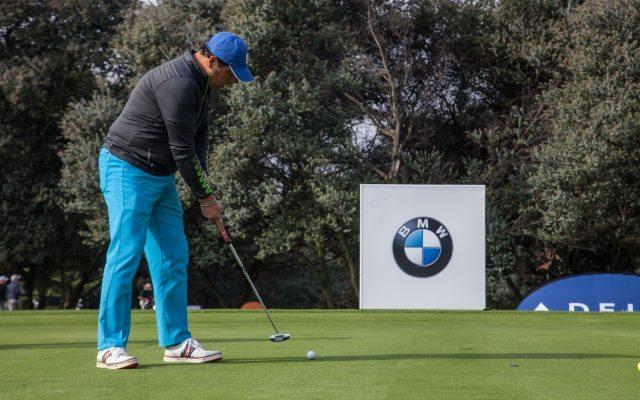 Jugador de la Copa de Golf Internacional organizada por BMW
