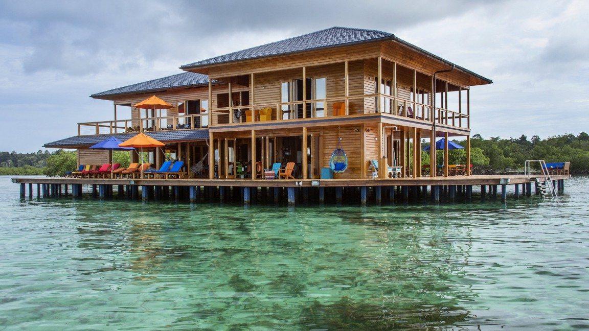 Sweet Bocas en Panamá, una villa sobre el agua para desconectarse.