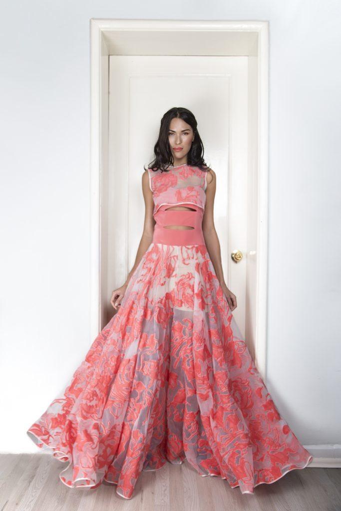Vestido de Macario Jiménez