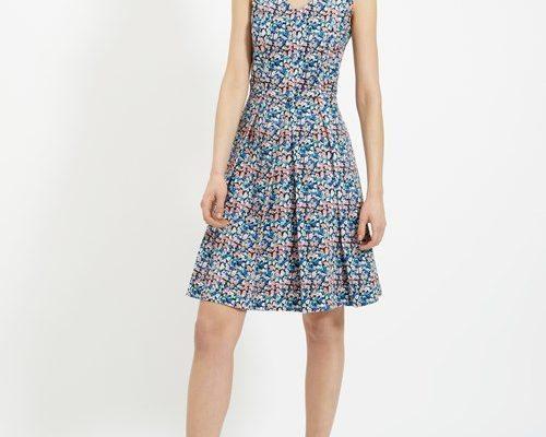 Vestido de People Tree, creado con algodón orgánico.