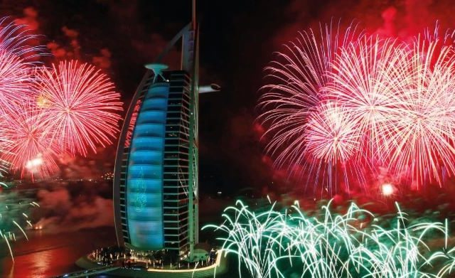 Enero 2015. Dubai, Emiratos Árabes .