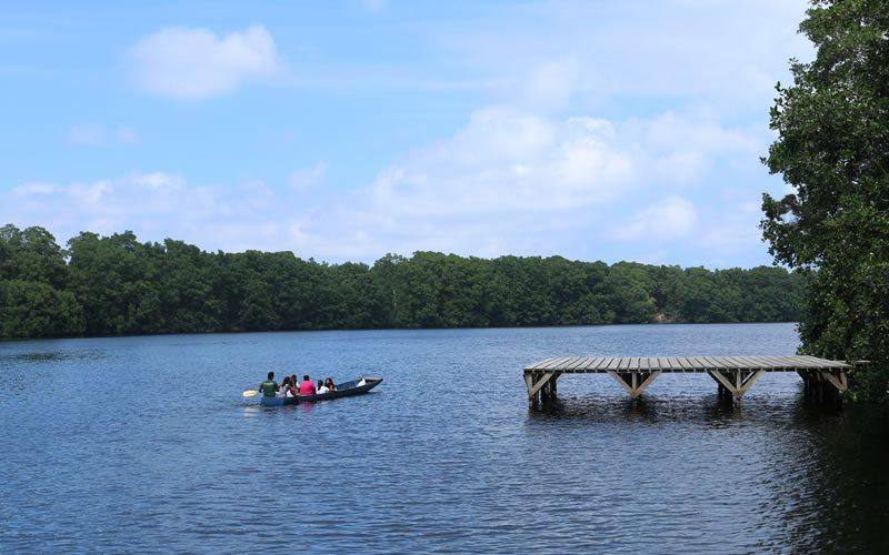 Laguna de Cacao, Honduras.