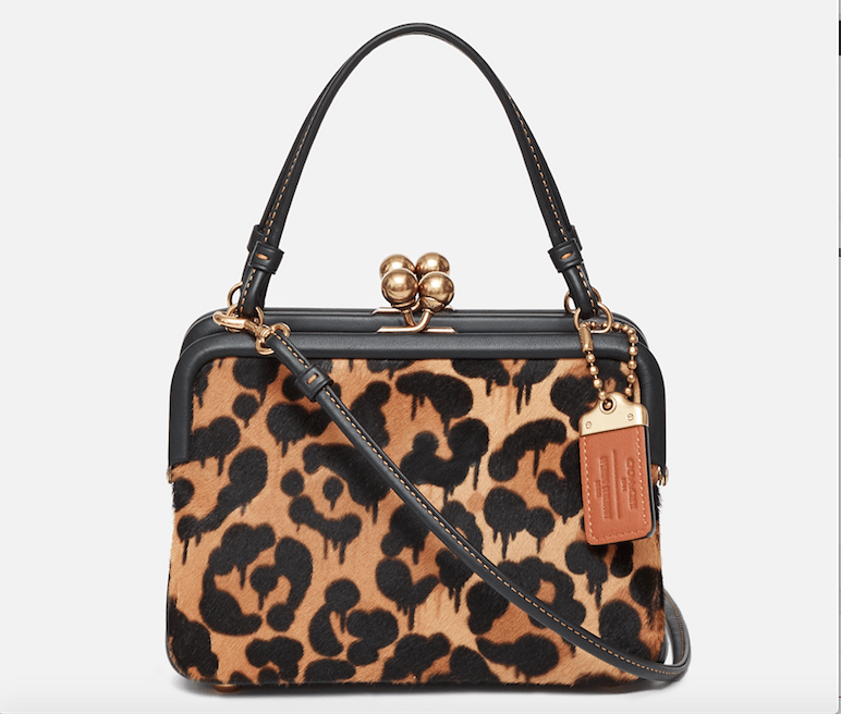 Coach 1941 x Opening Ceremony East West Haircalf Fame Bag Leopard