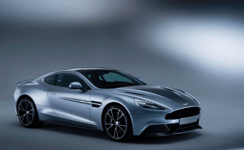 Aston Martin Vanquish Centennary Edition