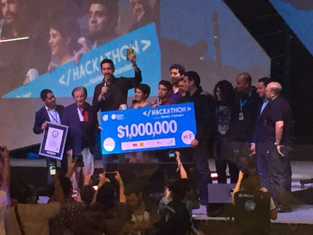 Brainiacs, los ganadores del Campus Party 2016. (Foto: Staff.)