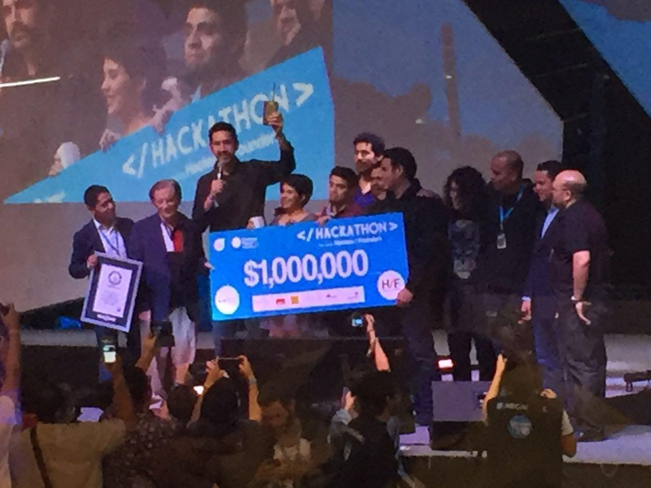 Brainiacs, los ganadores del Campus Party 2016. (Foto: Staff.)