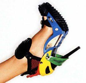 Zapatos de Lego
