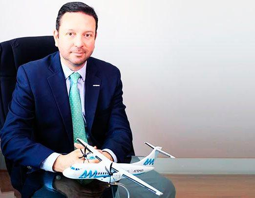 Andrés Fabre, CEO de Aeromar