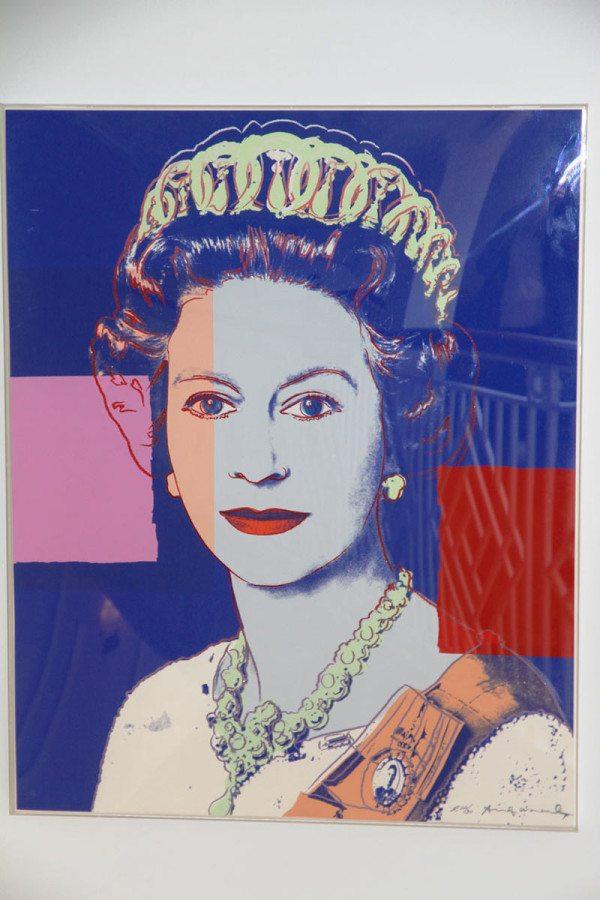 Cuadro de Warhol en el Hamilton Princess.